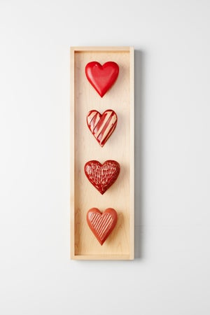 Image of Four Heart Shadow Box