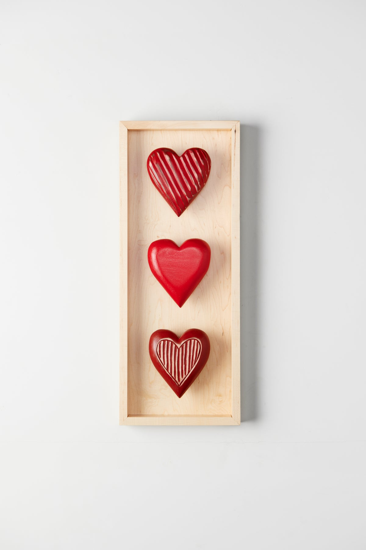 Three Heart Shadow Box