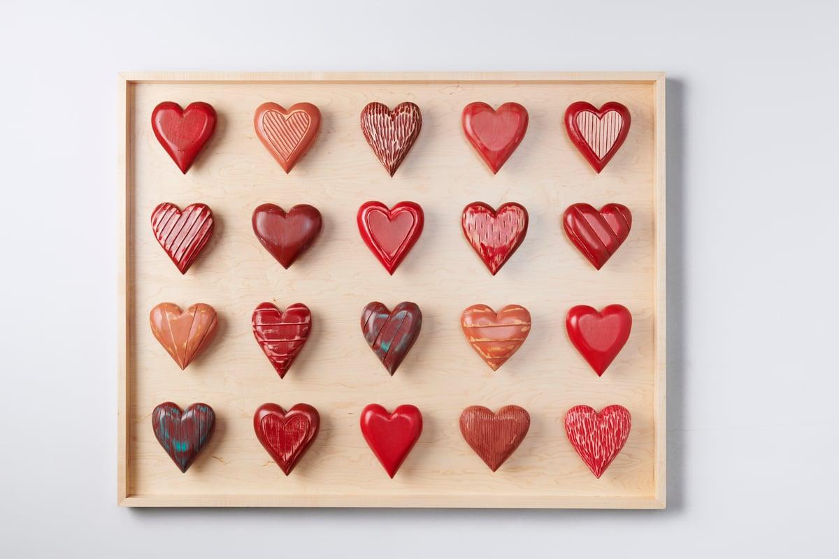Twenty Heart Shadow Box