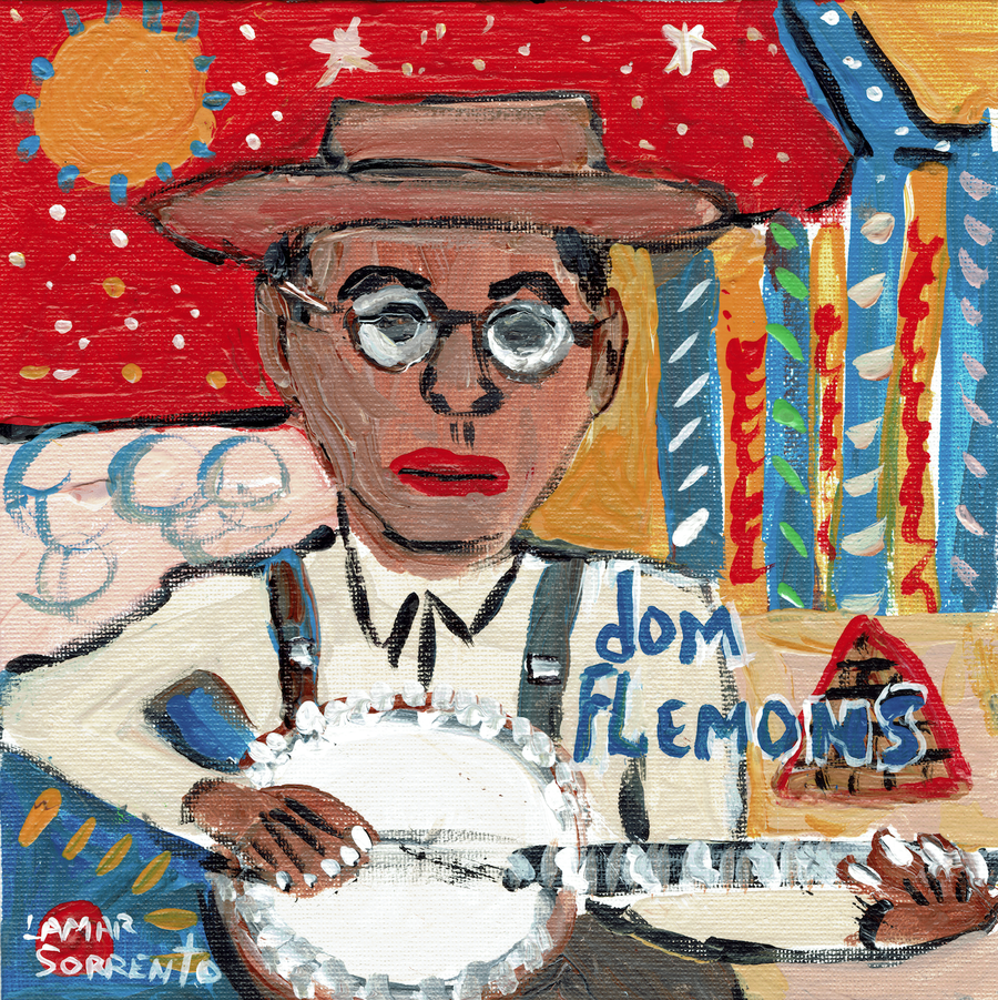 "Image of Dom Flemons - 3 SONGS! (Black  7"" SINGLE)"