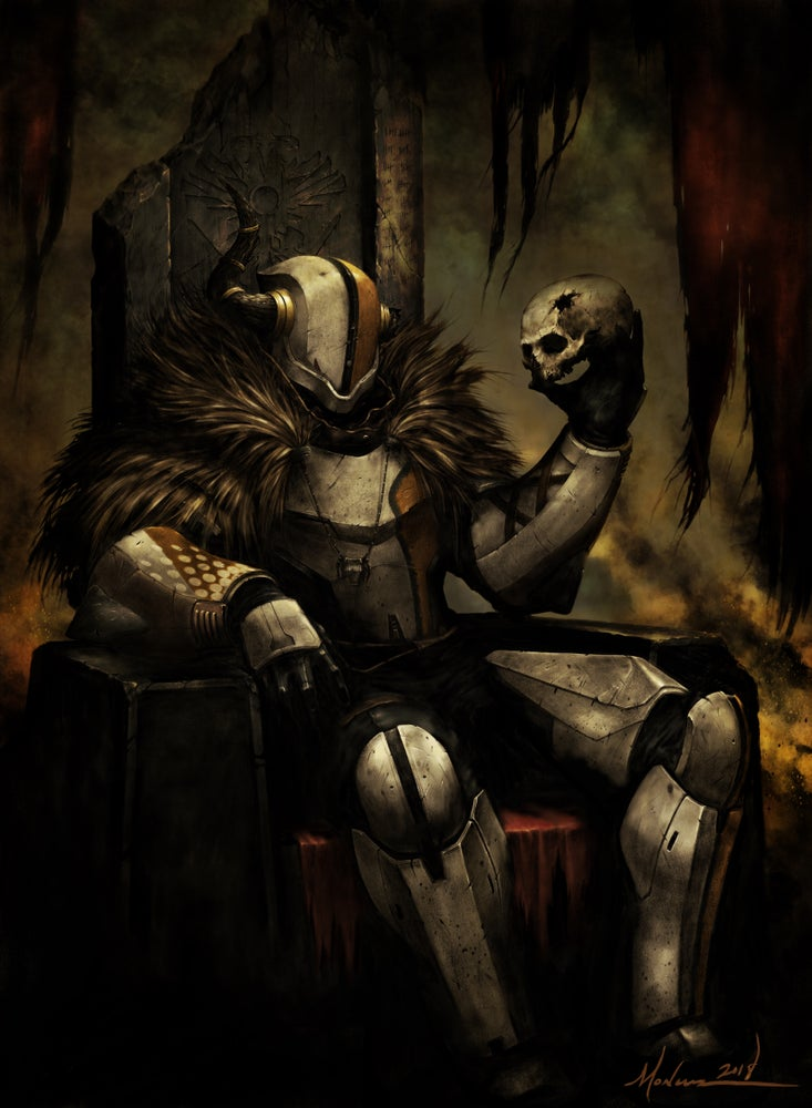 Image of Lord Shaxx (Color)