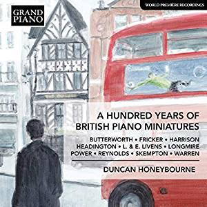 Image of A Hundred Years of British Piano Miniatures