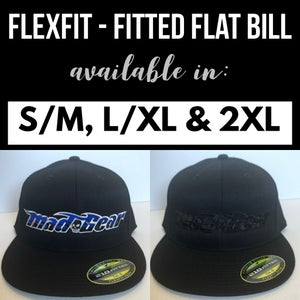 Image of Fitted-Mad Gear Blue or Black on Black
