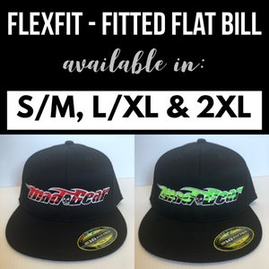 Image of Fitted-Red or Lime