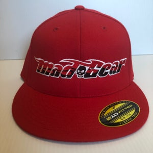 Image of Fitted-Mad Gear Red or Blue Hat