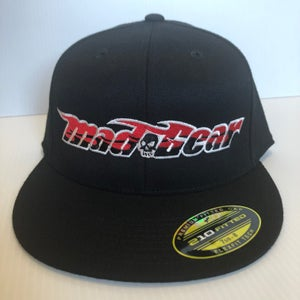 Image of Fitted-Mad Gear Red or Lime
