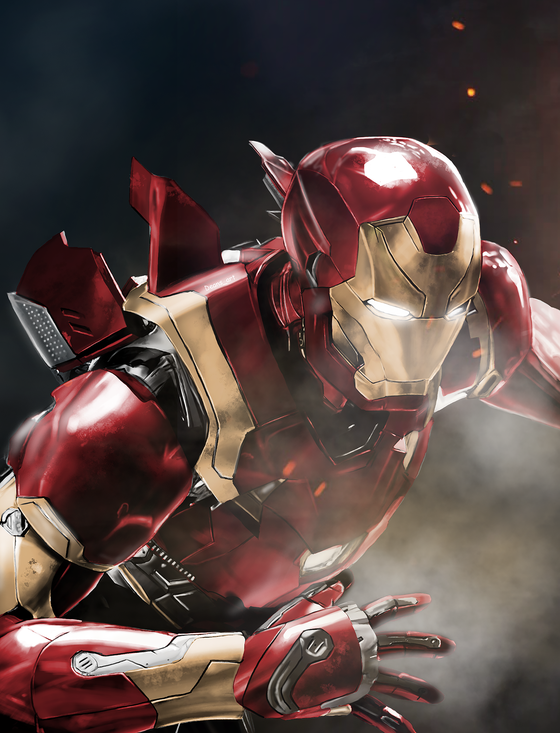 Image of Iron Man(A3 Print)