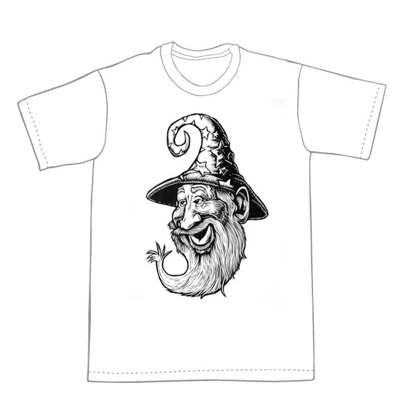 Image of Wizard T-shirt **FREE SHIPPING**