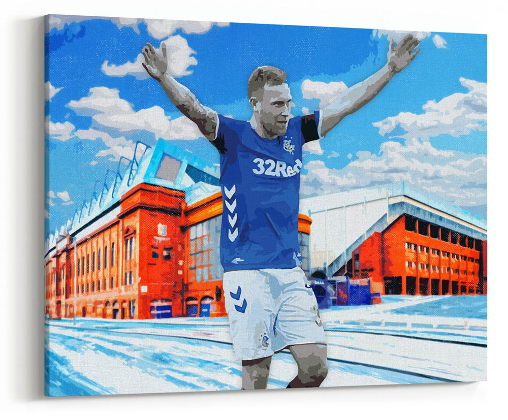 Image of Scott Arfield - Old Firm Celebration