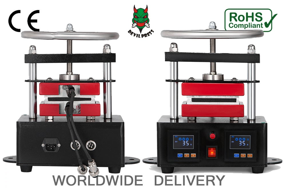 Image of DEVIL PRESS™ 9000s MINI MANUAL ROSIN PRESS