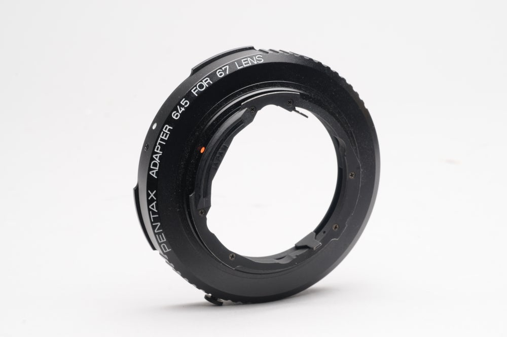 Image of OEM Pentax 67-645 lens adapter