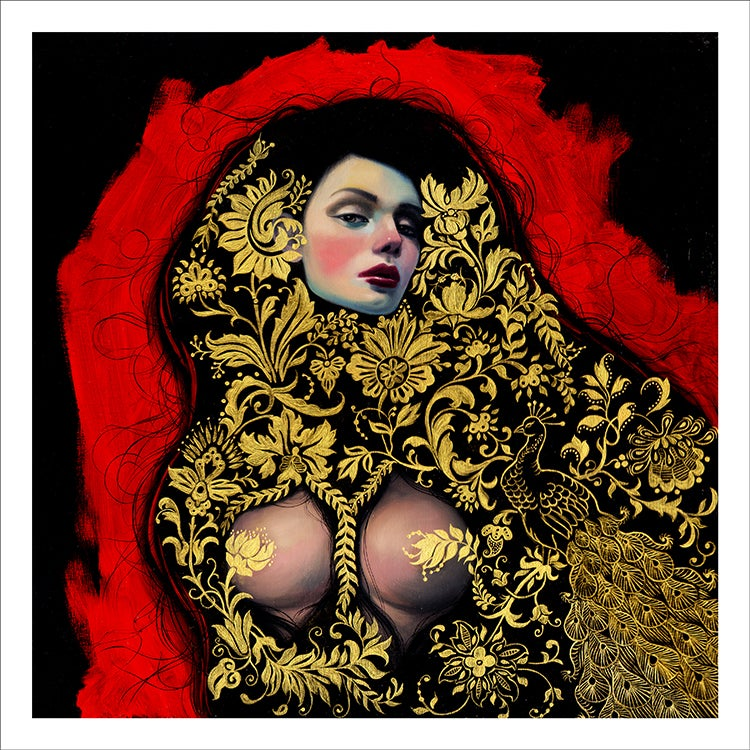 "Image of ""Velvet Garden"" Limited edition print"