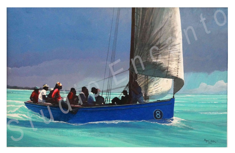 Image of Number Eight Running Free by Captain Roger C. Horton