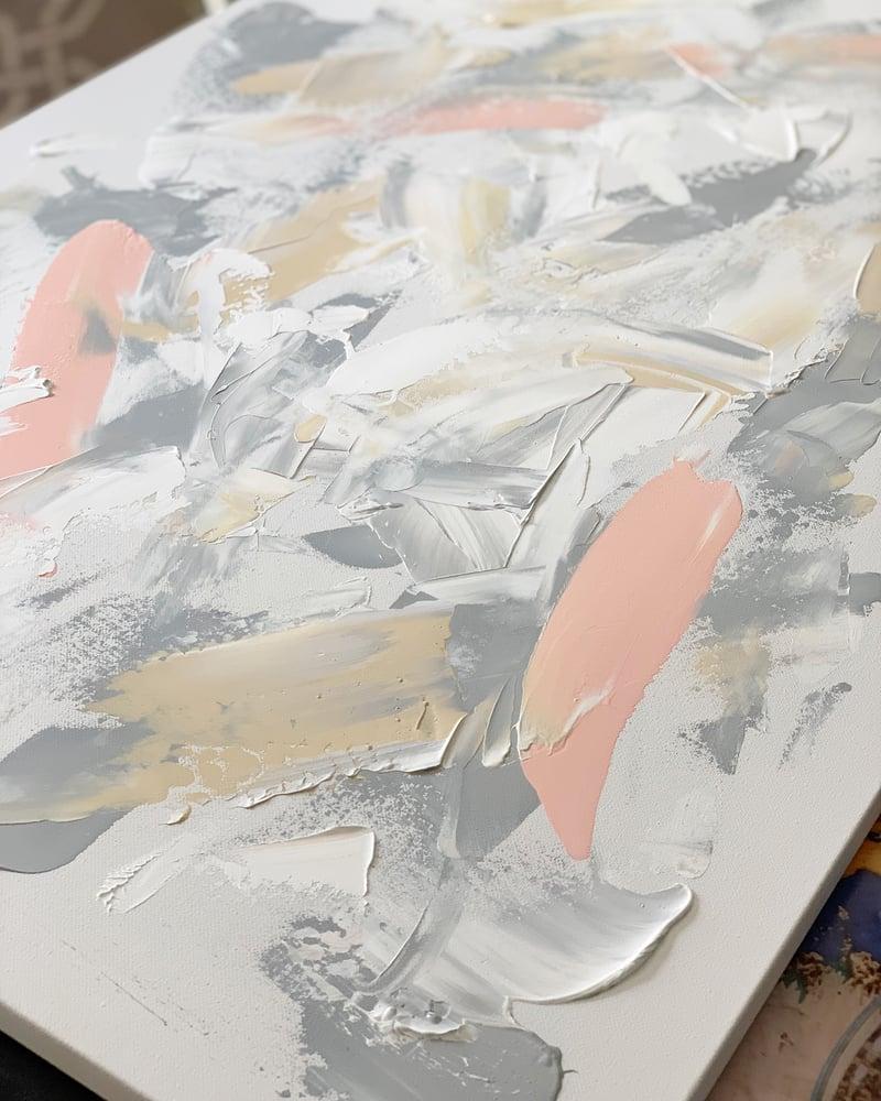 "Image of  ""Heather Grey"" 24 x 36 Canvas"