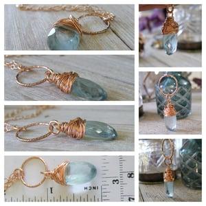 Image of Huge Designer Aquamarine Necklace