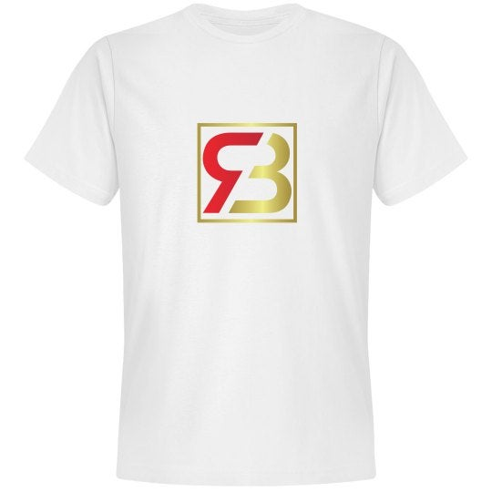 Image of Red Bottoms White Tee- Classic