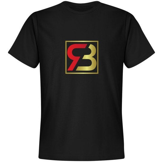 Image of Red Bottoms Classic Unisex Black Tee