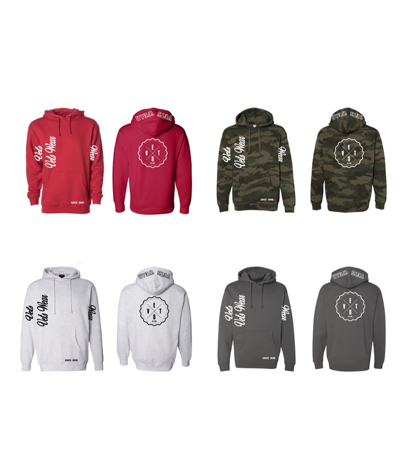Image of Vets Wear Hoodies