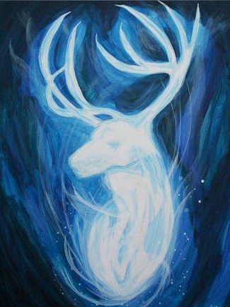 Image of PAINT YOUR PATRONUS! SATURDAY 2 MARCH 5:30 -7:30