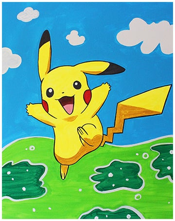 Image of PAINT a POKEMON! SATURDAY 23 FEBRUARY 5:30 -7:30