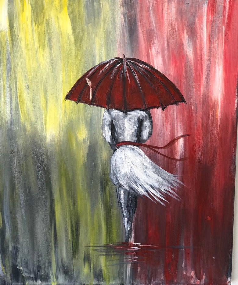 Image of LADY IN THE RAIN - FRIDAY 15 MARCH 7 -9