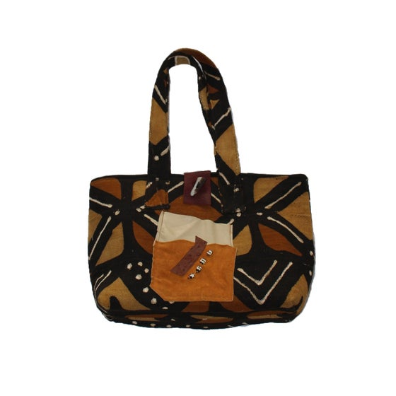 Image of Genuine Mud Cloth Tote