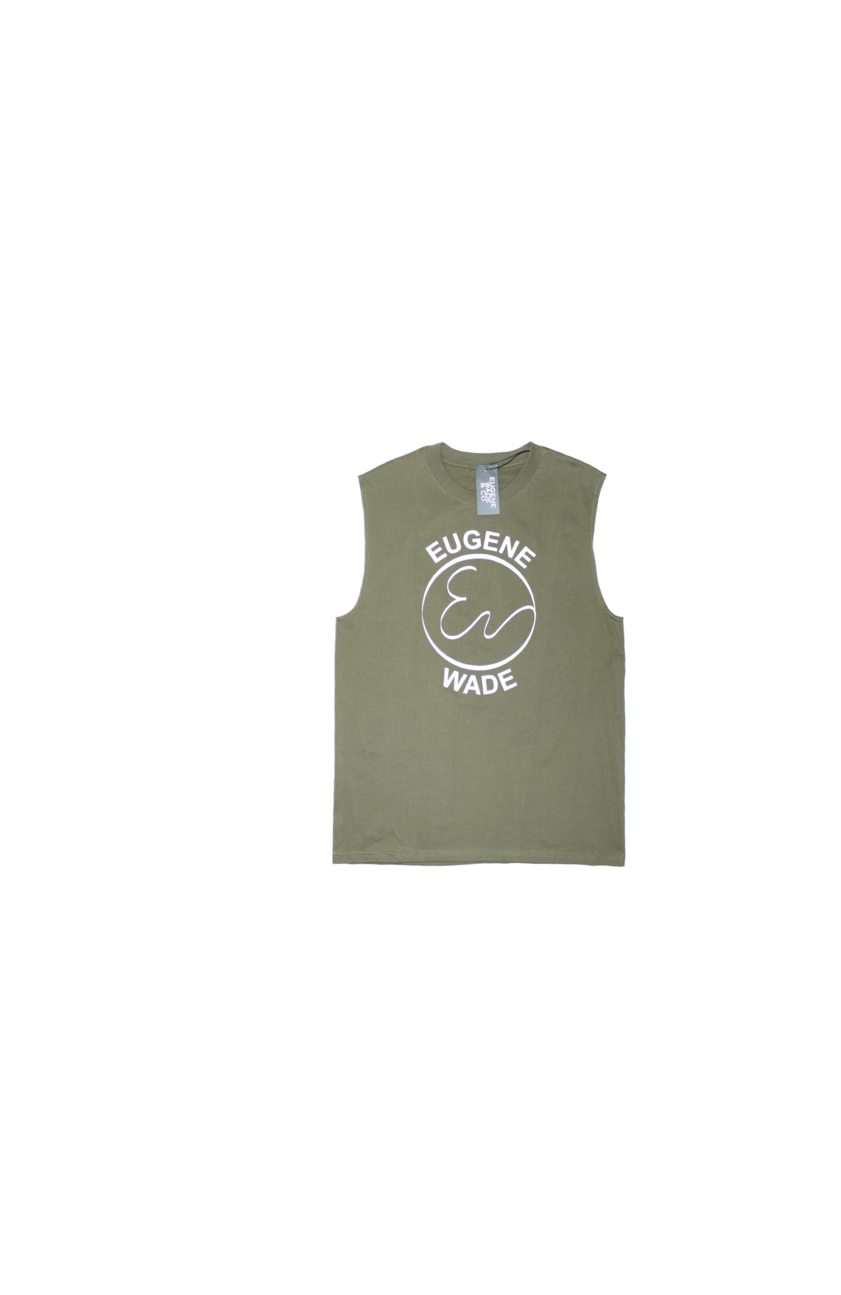 Image of MUSCLE TEE (Olive)