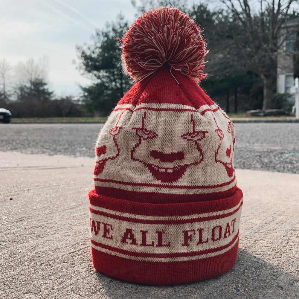 Image of Pennywise pom-pom winter hat