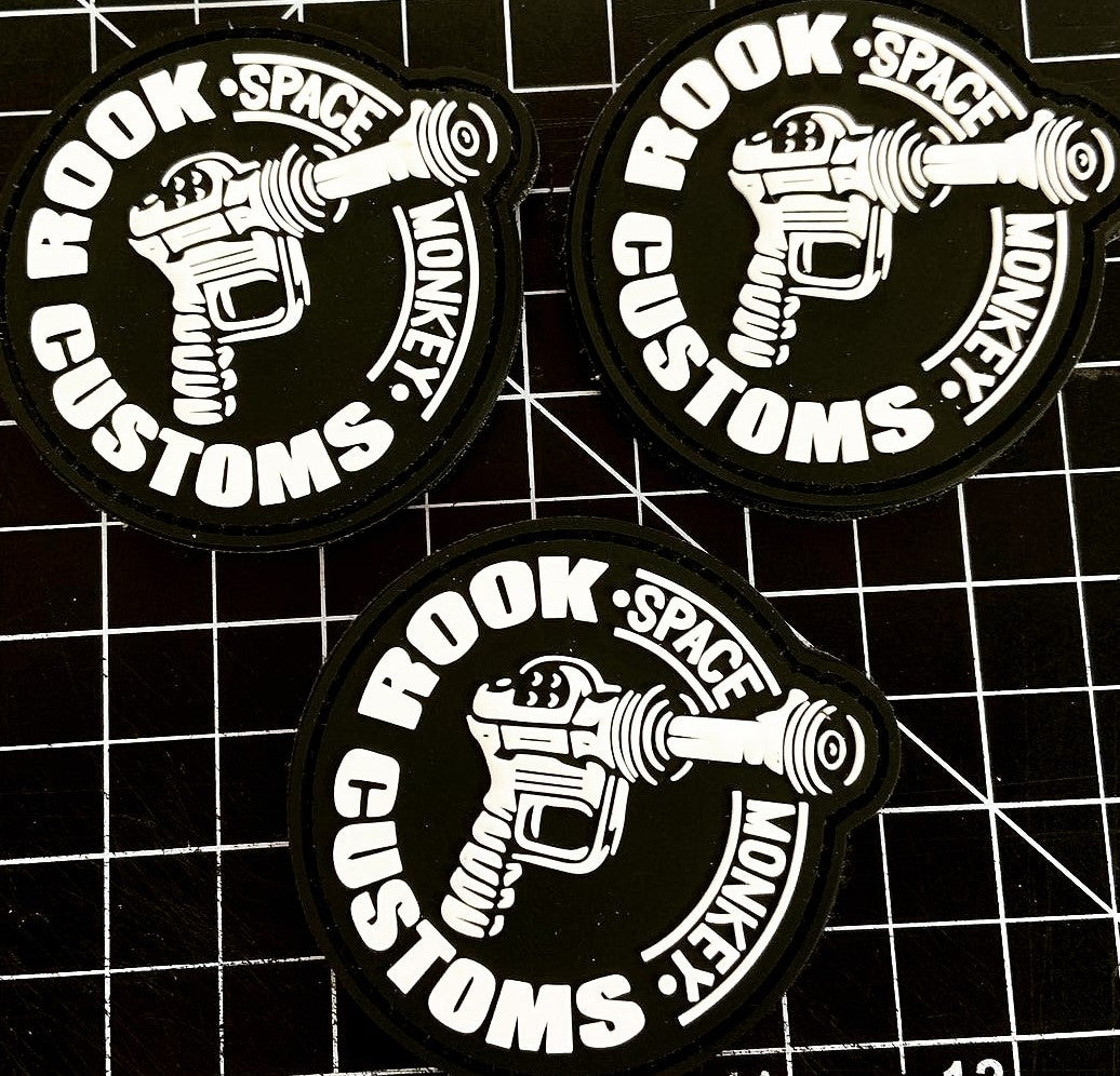 Image of Rook Customs RayGun Patch