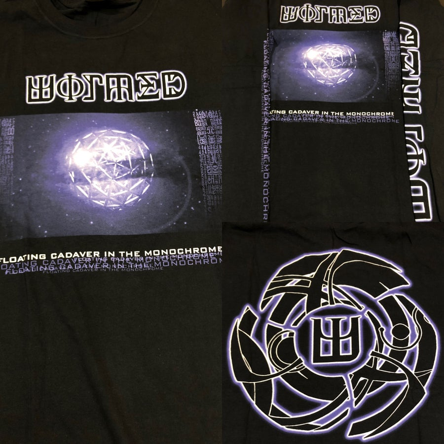 "Image of Officially Licensed Wormed ""Floating Cadaver in The Monochrome"" Short and Long Sleeve Shirts!"