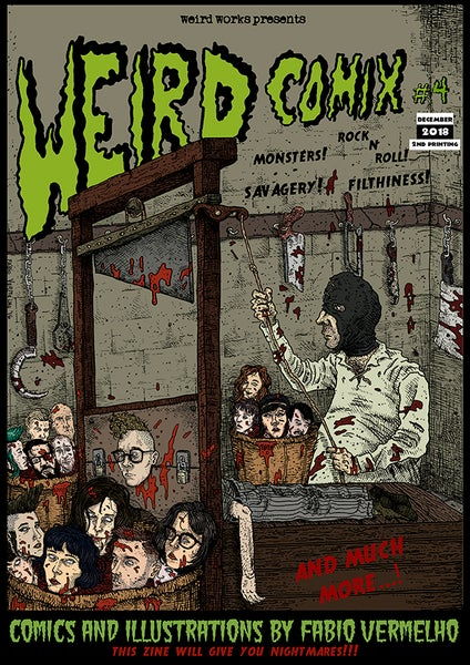 Image of Weird Comix #4 [2nd printing]