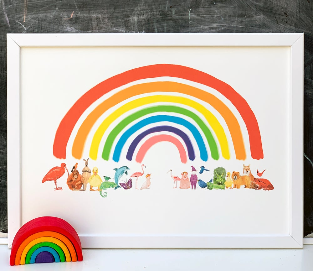 Image of Animal Rainbow in full color