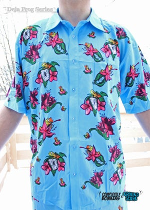 Deja Frog Series - Light Blue T-shirt