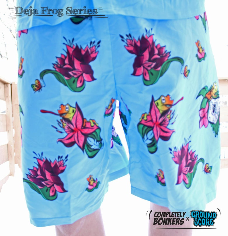 Image of Deja Frog Series - Light Blue Shorts