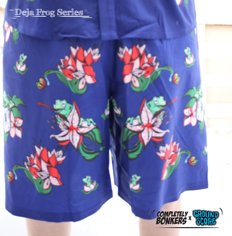 Image of Deja Frog Series - Navy Shorts