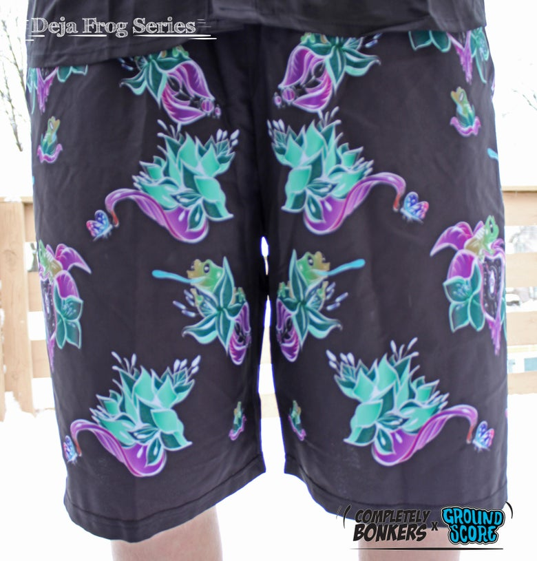 Image of Deja Frog Series - Green Frog Shorts