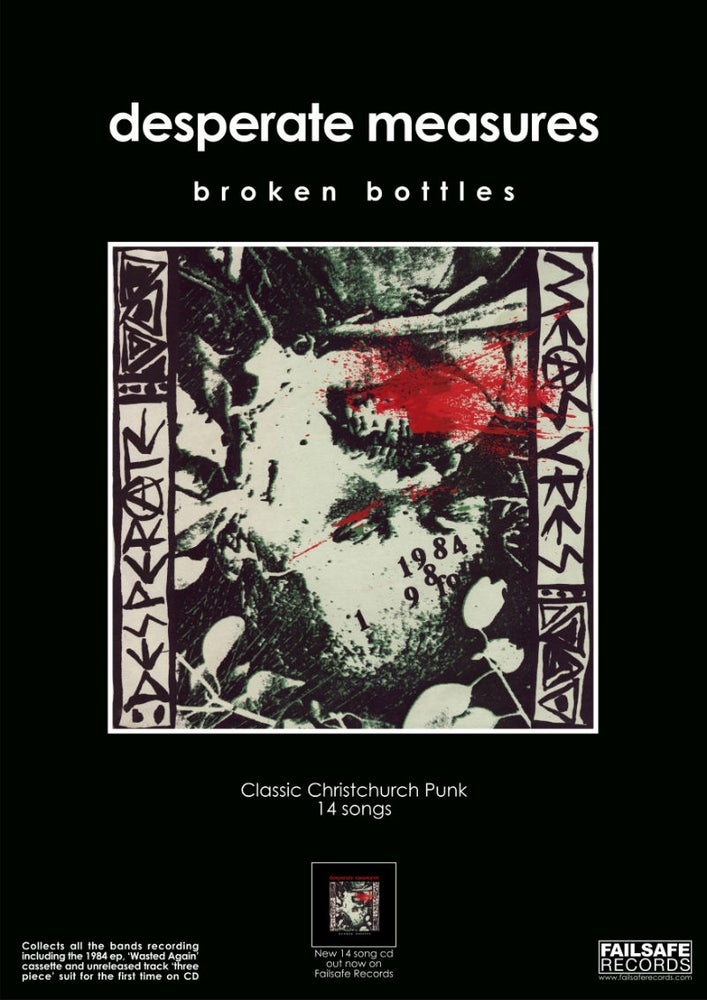 Image of BROKEN BOTTLES CD ALBUM