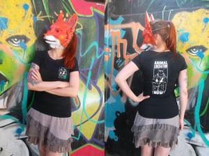 "Image of Women's T-Shirt ""Animal Liberation !Now!"""