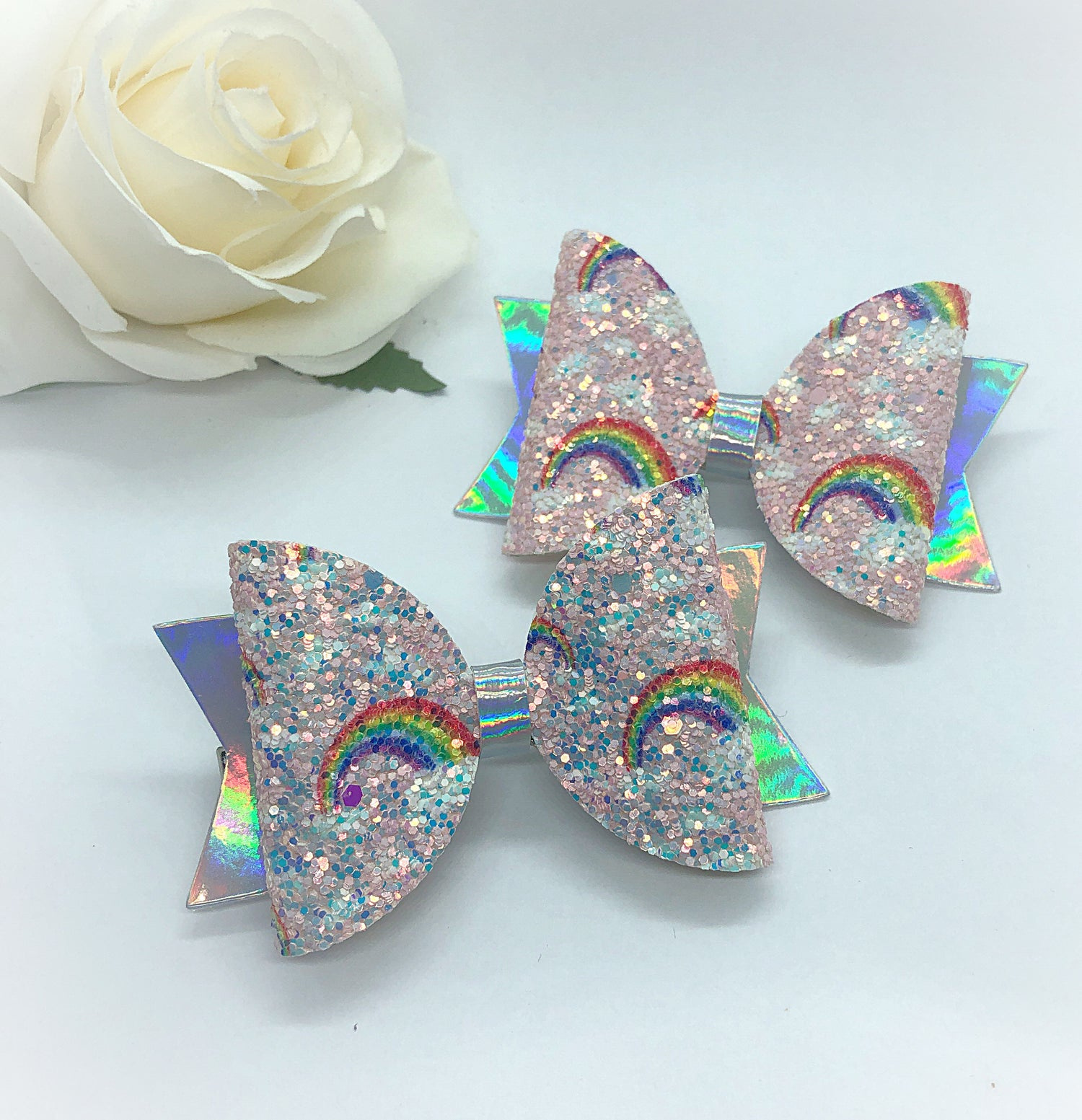 Image of Glitter rainbows