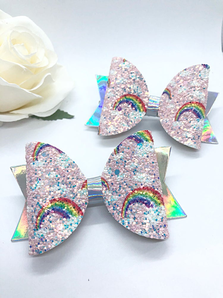 Image of Glitter rainbows