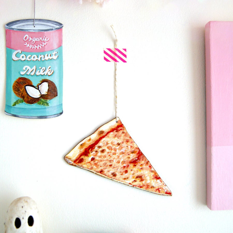 Image of Pizza slice Everyday Ornament