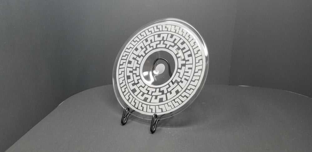 Image of Ancient Greek motif plate