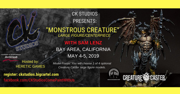 Image of Monstrous Creature, Bay Area CA with Sam Lenz - May 4 & 5 2019