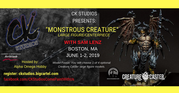 Image of Monstrous Creature, Boston/Quincy MA with Sam Lenz, June 1-2 2019