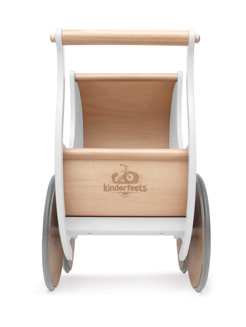 Image of Kinderfeets Pram/Walker white.