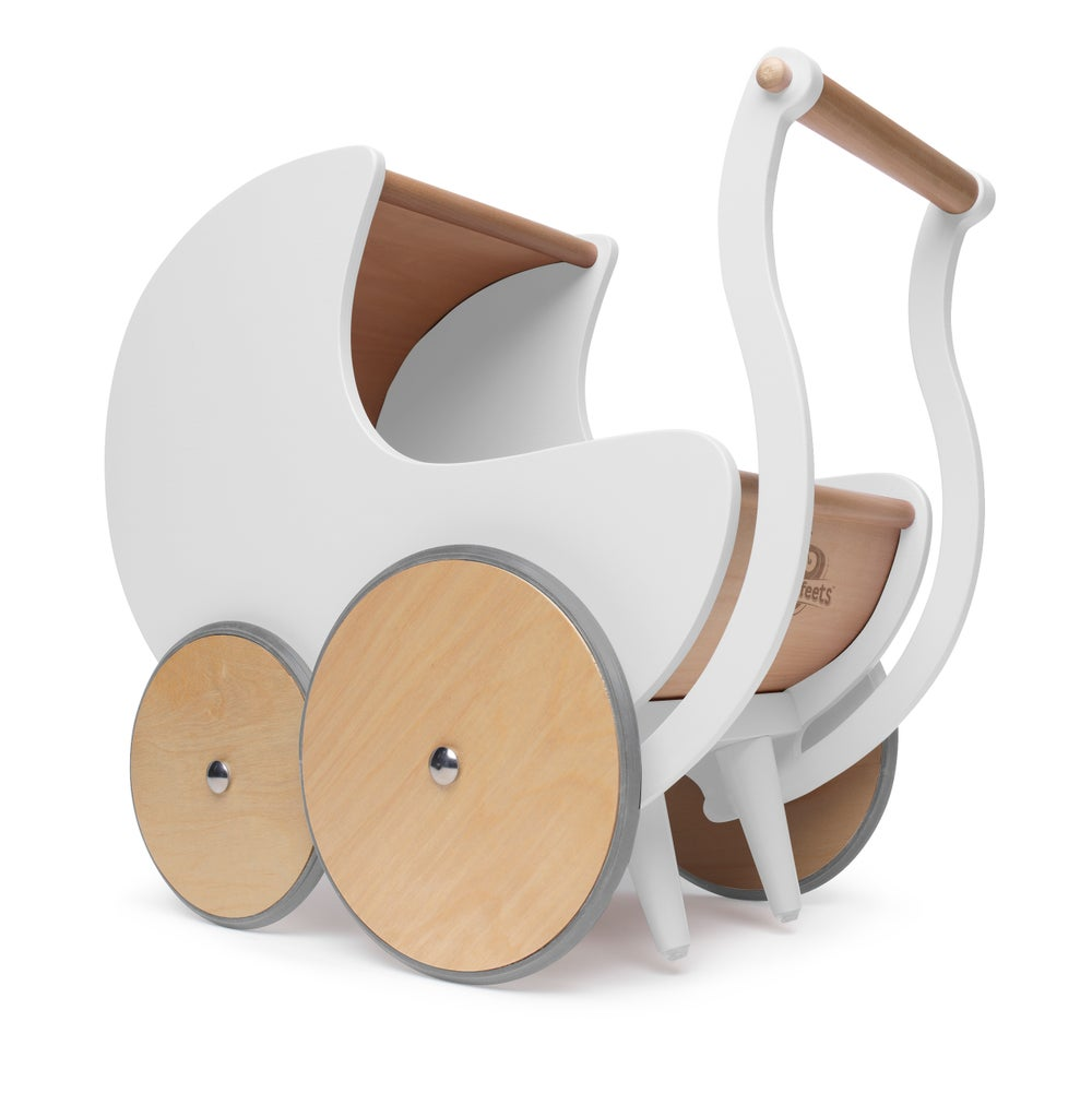 Image of Kinderfeets Pram/Walker white