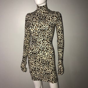 Image of Leopard Styling Dress