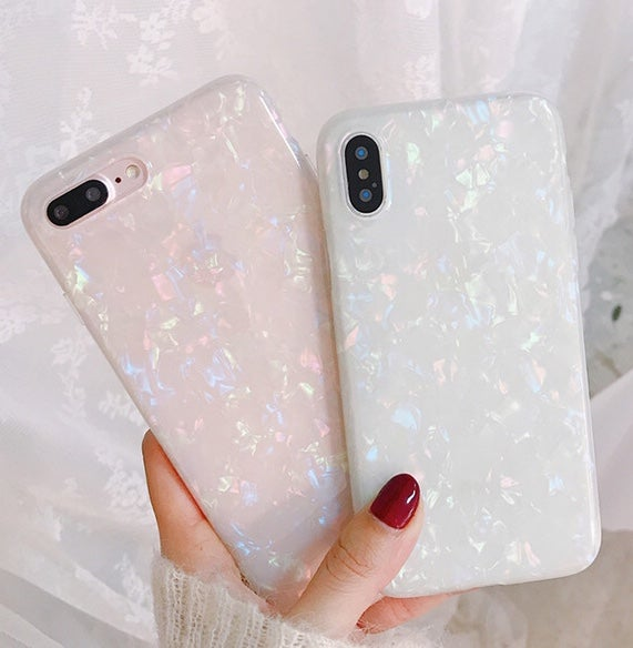 Image of Sparkly crystal phone case for iPhone XS
