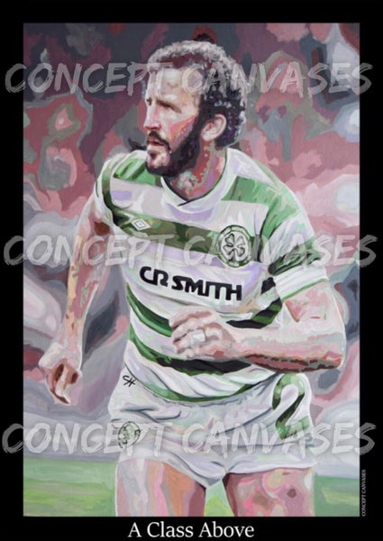 Image of LARGE A1 POSTER. Danny McGrain 'A Class Above'