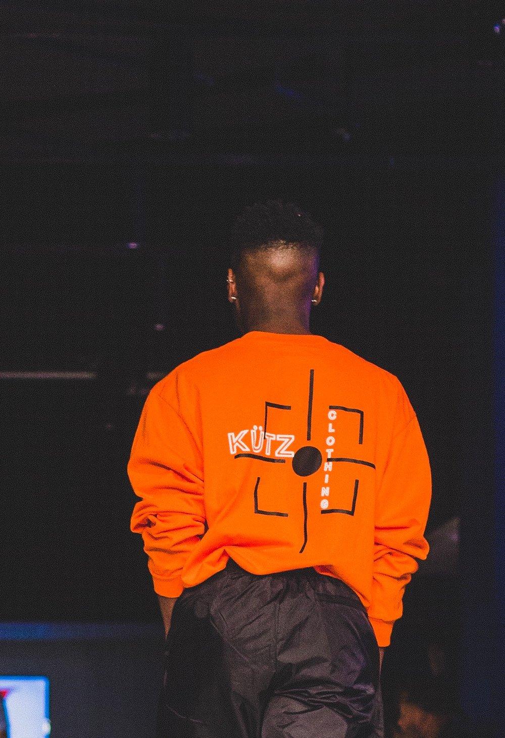 Image of Orange KüTz Aim High Long Sleeve